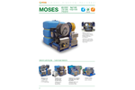 Model Moses - Water Jetting High Pressure Unit - Datasheet