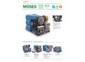 Model Moses - Water Jetting High Pressure Unit - Datasheet