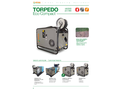 PTC - Model Torpedo Eco Compact - Professional High Pressure Hot/Cold Water and Steam - Datasheet