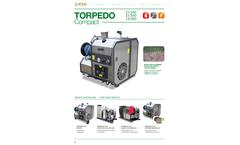 PTC - Model Torpedo Compact - High Pressure Hot/Cold Water and Steam - Datasheet