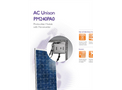 AC Unison - PM240PA0 - Photovoltaic Module with Microinverter Datasheet