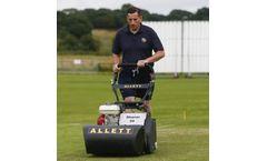 Allett Shaver - Model 20 & 24 - Cylinder Lawn Mower