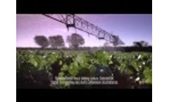 Tesco salad ad with Briggs Irrigation R64/2 boom Video
