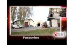Biomass pellets wood coal heating solid fuel boilers by Cichewicz CWD - presentation - Video