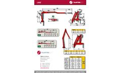 Tajfun - Model LIV 80Z - Transversely Folding Cranes - Brochure