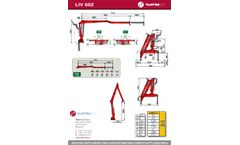 Tajfun - Model Z - Transversely Folding Cranes - Brochure