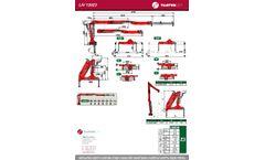 Tajfun - Model LIV 120Z3 - Transversely Folding Cranes - Brochure