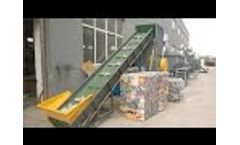 PET Washing Line, PET Bottle Recycling Machine, PET Bottle Washing Plant - Video