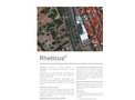 Rheticus - Automatic Cloud-Based Geoinformation Service Platform for Territorial Monitoring Brochure