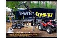 Vahva Jussi - 52kg Energy Wood Head Max Cut 12cm Video