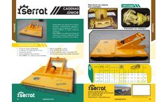 Cadenas Junior Ficha - Model FXCS- Chain Shredder for Forestry Work - Brochure