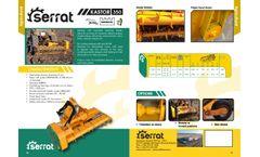 Kastor - Model 350 - Agricultural Mulcher- Brochure