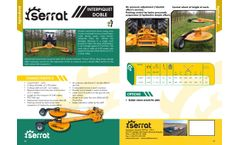 Interpiquet - Double Mechanical Driven Swing Arms Mower -  Brochure