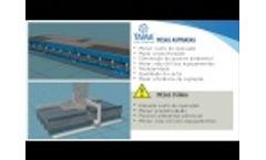 Water table vs downdraft suction - Video
