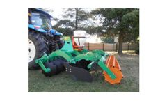 Shortdisk Used for Plowing and Soil Preparation