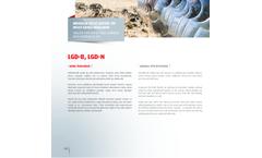 Özduman - Model LGD-B / LGD-N - Trailed Type Offset Disc Harrow wıth Hydraulic Lift  Brochure