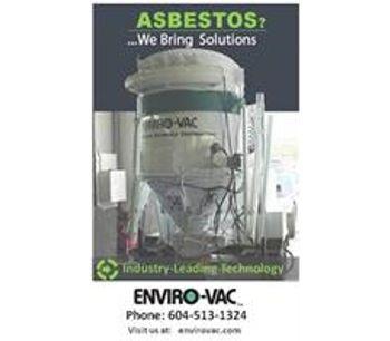 Enviro-Vac - Decontamination & Hazardous Materials Abatement Services - Canada Wide & South America