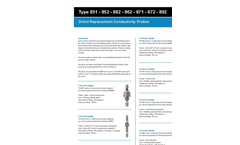 Direct Replacement Conductivity Probes Brochure