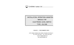 Model 300MP - Electronic Level Switch - Manual