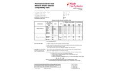 Kidde - Model 700 Series - 2 and 4-Wire Conventional Smoke Detectors Brochure