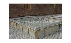 Kinetics - Model KSCR - Roof Curb and Isolation System