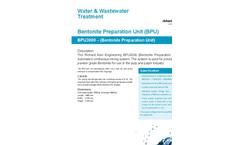 Model BPU3000 - Bentonite Preparation Unit Brochure