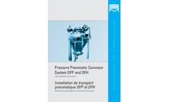 Mahr - Model DFP/DFH - Pneumatic Conveyor System - Brochure