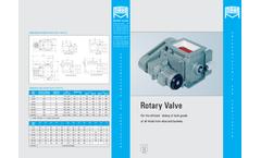 Mahr - Model Type SZR, N, UL - Rotary Feeder - Datasheet