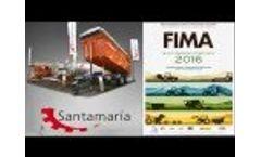 Agricultural Fair FIMA 2016 - Trailers Santa Maria Video