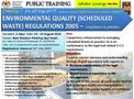Scheduled Wastes Regulations 2005 - Malaysia