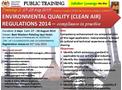 Clean Air Regulations 2014