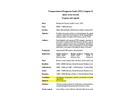 Transportation of Dangerous Goods (TDG) Congress IV - Program and Agenda
