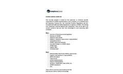 WHMIS – Supervisor Training Course Agenda