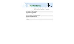 Model FRP - Wall Box Fan Brochure