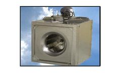Model SICB-7  - Steel Square In-Line Centrifugal Duct Fans
