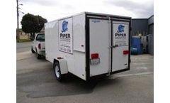 Piper - Model 2 - Rental Ozone Trailer