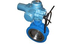 Model Ordinary Type BQWSY - Flange Three Eccentric Electric Butterfly Valve