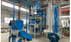 Which kinds of materials can be application to aluminum plastic recycling machine?