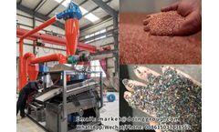 Copper wire granulator machine