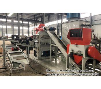 New copper wire recycling equipment — Copper wire granulator