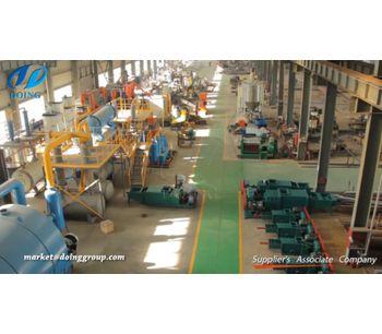 Doinggroup - Version DY-TM - Circuit board recycling machine