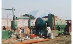 Henan-Doing - Waste Tyres Pyrolysis Plant