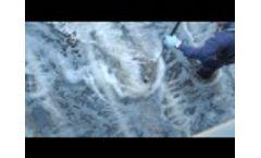 15 To 20 Year Lifespan - Hydroflux Australia Aerostrip Fine Bubble Diffuser Video