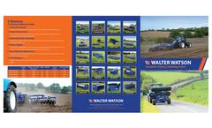 Hydraulic Folding Cambridge Roller Brochure