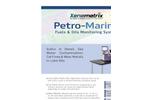 Petro-Marine - On-Board Fuels & Oils Monitoring System - Brochure