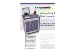 EX-6600 & X-7600 Laboratory EDXRF Spectrometers with Secondary Targets - Brochure