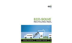 Eco-Solve - Enterprise Contract Management Software Brochure