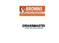 Grassmaster - Model 2m - Spring Tine Grass Harrow- Brochure