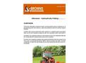 Slitmaster - Hydraulically Folding Grassland Aerator Brochure
