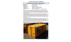 HORSE - Model AD25 Series - High-solids Organic-waste Recycling System with Electrical Output - Brochure